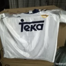 Coleccionismo deportivo: CAMISETA FUTBOL ORIGINAL ADIDAS REAL MADRID TEKA. Lote 166024450