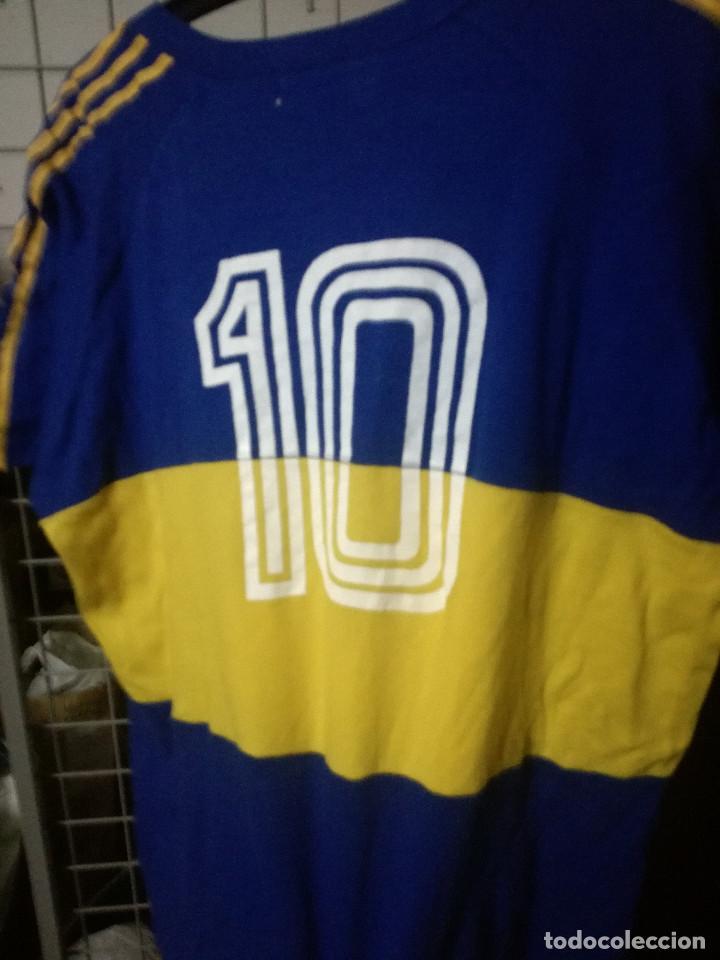 quality design 08e2a f6798 BOCA JUNIORS ARGENTINA VINTAGE REPLICA MARADONA XL camiseta futbol football  shirt