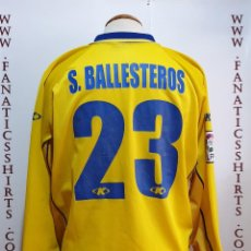Coleccionismo deportivo: CAMISETA FUTBOL VILLARREAL CF Nº23 S. BALLESTEROS 12-13 KELME. Lote 167511540
