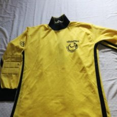 Coleccionismo deportivo: CAMISETA FÚTBOL UHISPORT PORTERO AÑOS 90. Lote 167598004
