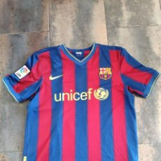 Sports collectibles - Barcelona Camiseta Nike Talla M Publicidad UNICEF - 167711664