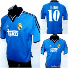 Coleccionismo deportivo: CAMISETA REAL MADRID 1999-00 FIGO. Lote 168173460