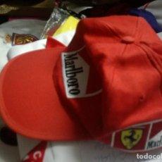Collezionismo sportivo: GORRA F1 VINTAGE MARLBORO TABACO FERRARI CAP BUFANDA FUTBOL FOOTBALL SCARF . Lote 168491268
