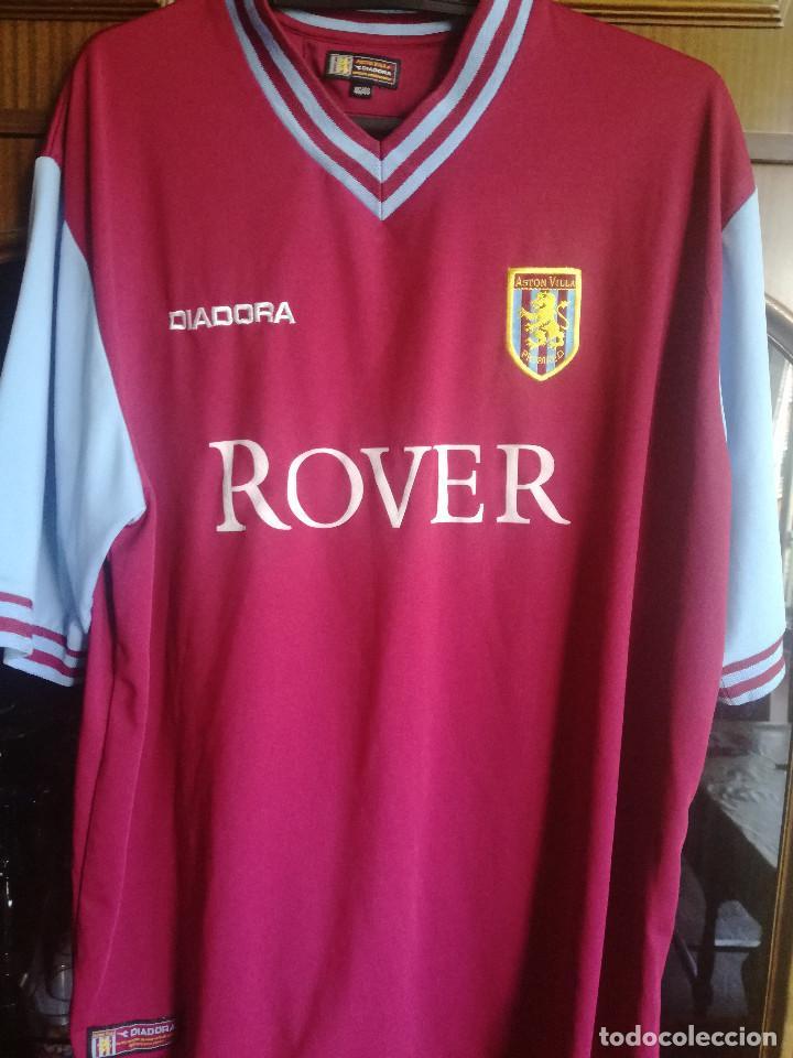 quality design 13712 8b318 ASTON VILLA XL camiseta futbol football shirt