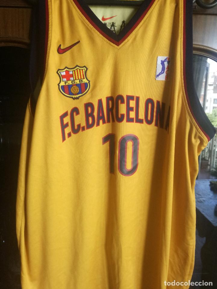 brand new 20c77 b98f3 FC BARCELONA MATCH WORN CAMISETA SHIRT BASKET BASQUET ACB (dorsal) XXL