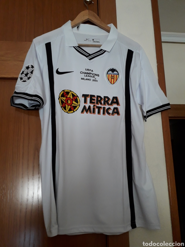 Camiseta casa retro valencia cf final champions - Vendido en Venta Directa - 168706946