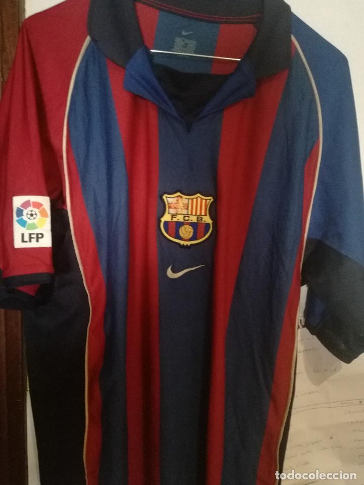 huge selection of fbb63 d67fa Fc barcelona 2002 (tara escudo) l camiseta fut - Sold ...