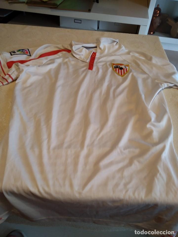 C-GOD01 CAMISETA DE FUTBOL DE SEVILLA CLUB DE FUTBO NO APARECE TALLA PERO PARECE MEDIANA (Coleccionismo Deportivo - Ropa y Complementos - Camisetas de Fútbol)