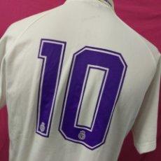 Coleccionismo deportivo: CAMISETA FUTBOL VINTAGE ORIGINAL OFICIAL KELME REAL MADRID TEKA DORSAL 10. Lote 169280596