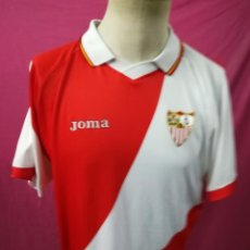 Coleccionismo deportivo: CAMISETA FUTBOL ORIGINAL JOMA SEVILLA F.C. . Lote 169328872