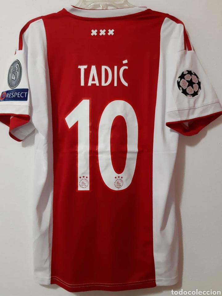 gran descuento 81db6 e55e6 Camiseta casa Ajax Amsterdam Champions League de 2019. Tadic