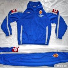 Coleccionismo deportivo: CHANDAL LOTTO - REAL ZARAGOZA - EXPO ZARAGOZA 2008 TALLA XL 164/176 CM.. Lote 169832180