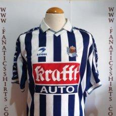 Coleccionismo deportivo: CAMISETA FUTBOL REAL SOCIEDAD 1998-1999 ASTORE KRAFFT . Lote 169895196