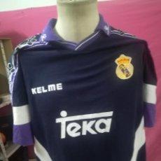 Coleccionismo deportivo: CAMISETA FUTBOL ORIGINAL KELME REAL MADRID TEKA. Lote 169895236