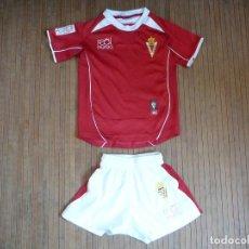 Coleccionismo deportivo: EQUIPACIÓN INFANTIL REAL MURCIA CLUB DE FUTBOL LFP TALLA???. Lote 169899660
