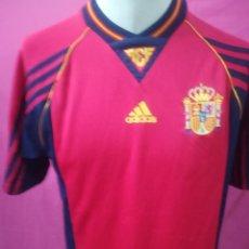 Coleccionismo deportivo: CAMISETA FUTBOL ORIGINAL ADIDAS SELECCION ESPAÑOLA. Lote 170955097