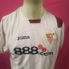Coleccionismo deportivo: CAMISETA FUTBOL ORIGINAL JOMA SEVILLA F.C.888.COM. Lote 171036505