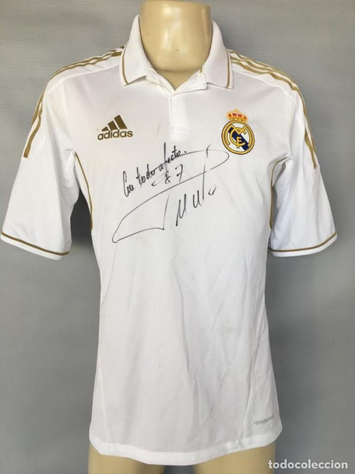 100% authentic 5f846 3a188 Camiseta 2013 Real Madrid #7 Cr Ronaldo match worn shirt signed
