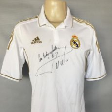 Coleccionismo deportivo: CAMISETA 2013 REAL MADRID #7 CR RONALDO MATCH WORN SHIRT SIGNED. Lote 171330528