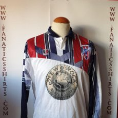 Coleccionismo deportivo: CAMISETA FUTBOL YECLANO C.F 1998-1999 Nº22 MATCH WORN ELEMENTS . Lote 171361427