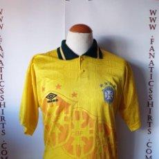 Coleccionismo deportivo: CAMISETA FÚTBOL SELECCIÓN BRASIL 1994 UMBRO. Lote 171361909