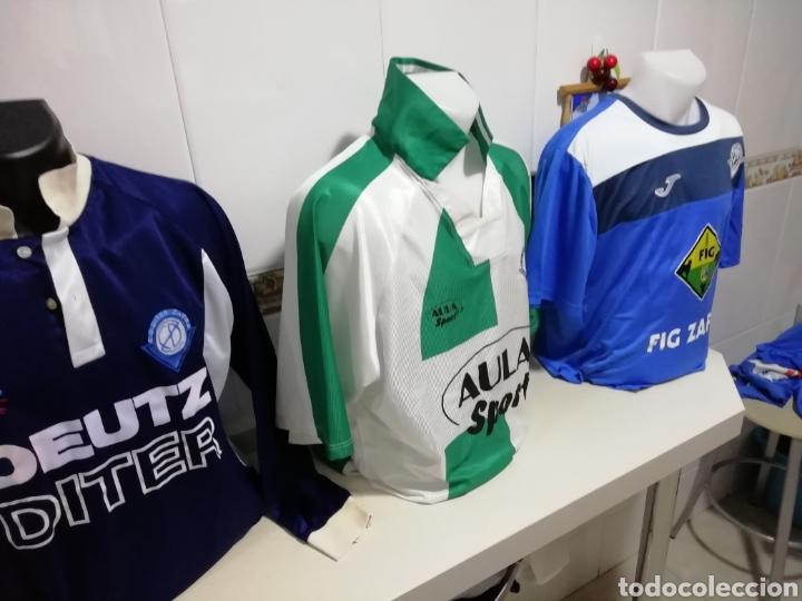 DITER ZAFRA. LOTE DE 3 SHIRTS DIFERENTES (Coleccionismo Deportivo - Ropa y Complementos - Camisetas de Fútbol)