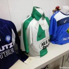 Coleccionismo deportivo: DITER ZAFRA. LOTE DE 3 SHIRTS DIFERENTES. Lote 171374247