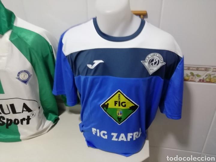 Coleccionismo deportivo: Diter Zafra. Lote de 3 shirts diferentes - Foto 3 - 171374247