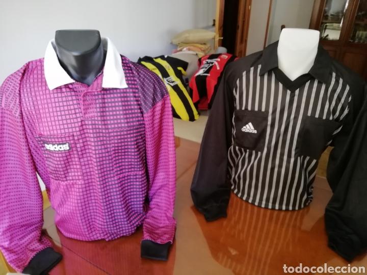 Coleccionismo deportivo: Camisetas árbitros llamativas. Diferentes colores. - Foto 3 - 171452398