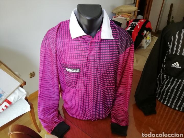 Coleccionismo deportivo: Camisetas árbitros llamativas. Diferentes colores. - Foto 5 - 171452398
