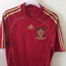 Coleccionismo deportivo: CAMISETA DE LA SELECCIÓN ESPAÑOLA DE LA EUROCOPA AUSTRIA-SUIZA 2008. Lote 171765670
