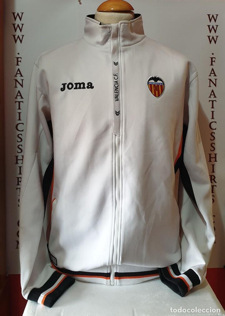 CHAQUETA CHANDAL VALENCIA C.F 2011-2012 JOMA (Coleccionismo Deportivo - Ropa y Complementos - Camisetas de Fútbol)