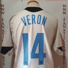 Coleccionismo deportivo: CAMISETA FUTBOL INTER MILAN Nº14 VERON 2005-2006 NIKE CALCIO . Lote 172083215