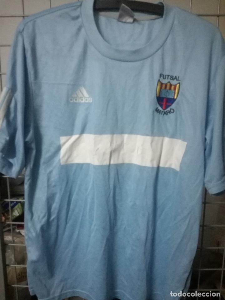 super popular 0a188 4c542 FUTSAL MATARO Sponsor mal estado M Camiseta futbol football shirt fussball  trikot