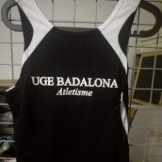 Collectionnisme sportif: BADALONA RUNNING CAMISETA SHIRT L ATLETISMO MAILLOT. Lote 172270015