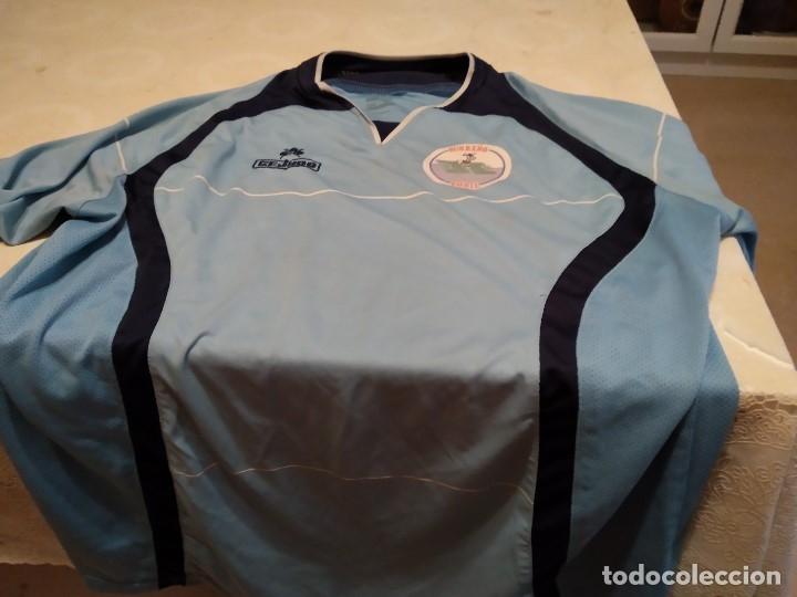 G-M7B3G CAMISETA DE FUTBOL DE LOS BURREÑO CONIL CEJUDO CELESTE NO APARECE TALLA PARECE CHICA (Coleccionismo Deportivo - Ropa y Complementos - Camisetas de Fútbol)