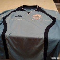 Coleccionismo deportivo: G-M7B3G CAMISETA DE FUTBOL DE LOS BURREÑO CONIL CEJUDO CELESTE NO APARECE TALLA PARECE CHICA. Lote 172424155