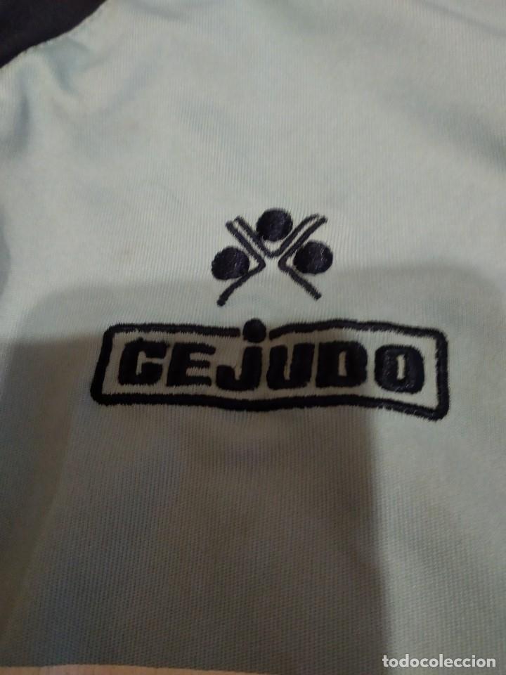 Coleccionismo deportivo: G-M7B3G CAMISETA DE FUTBOL DE LOS BURREÑO CONIL CEJUDO CELESTE NO APARECE TALLA PARECE CHICA - Foto 2 - 172424155