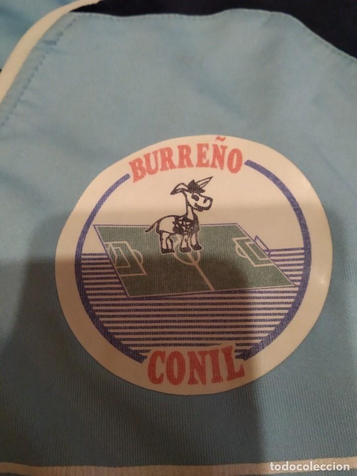 Coleccionismo deportivo: G-M7B3G CAMISETA DE FUTBOL DE LOS BURREÑO CONIL CEJUDO CELESTE NO APARECE TALLA PARECE CHICA - Foto 3 - 172424155