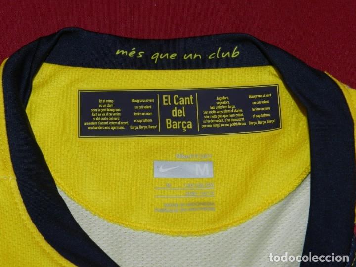 Coleccionismo deportivo: (M) Camiseta Oficial FC Barcelona Temporada 2008 - 2009 Firmada Por Andrés Iniesta, Xavi Hernández, - Foto 8 - 172746790