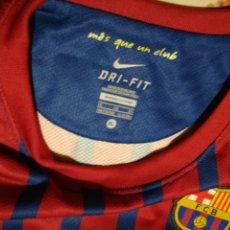 Coleccionismo deportivo: CAMISETA FC BARCELONA - TEMPORADA 2011/2012 - SIN PERSONALIZAR - SIN USO - T. 158-170 CMS 13-15 AÑOS. Lote 173598705