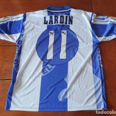 Coleccionismo deportivo: MATCH WORN SHIRT JORDI LARDÍN (RCD ESPAÑOL). Lote 174047400