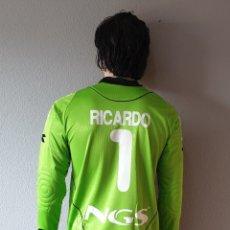 Coleccionismo deportivo: CAMISETA FUTBOL OSASUNA Nº1 RICARDO 2008-2009 DIADORA . Lote 174162429