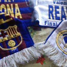Collezionismo sportivo: FC BARCELONA REAL MADRID FINAL COPA FUTBOL FOOTBALL BUFANDA SCARF . Lote 174170602