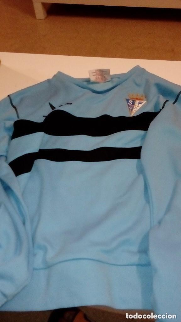G-151217 SUDADERA DEL SAN FERNANDO CLUB DE FUTBOL TALLA 10 AÑOS TALLA MUY CHICA (Coleccionismo Deportivo - Ropa y Complementos - Camisetas de Fútbol)