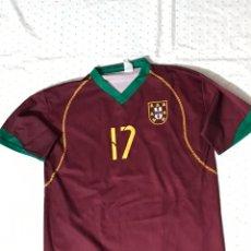 Coleccionismo deportivo: CAMISETA FÚTBOL C.RONALDO NÚMERO 17 TALLA M. Lote 174204109