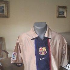 Coleccionismo deportivo: CAMISETA FC BARCELONA 2002. TALLA L. 2 EQUIPACION. Lote 174271953