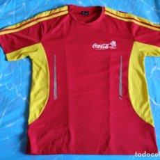 Coleccionismo deportivo: CAMISETA DE FUTBOL UEFA EURO 2012 POLONIA-UCRANIA. COCA COLA TALLA XL. Lote 174472858