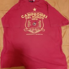 Coleccionismo deportivo: CAMISETA OFICIAL ESPAÑA 2010 TALLA XL (PROMOCION MUNDIAL 2010). Lote 174696477