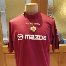 Coleccionismo deportivo: CAMISETA FUTBOL AS ROMA 2003 2004. DIADORA. CARECE DE DORSAL. TALLA XL. POCO USO.. Lote 175046450